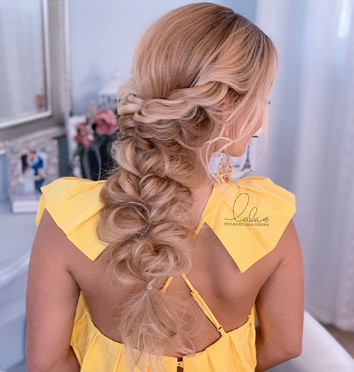 20 Glamorous And Awesome Long Hair Prom Styles New Best Long Haircut Ideas