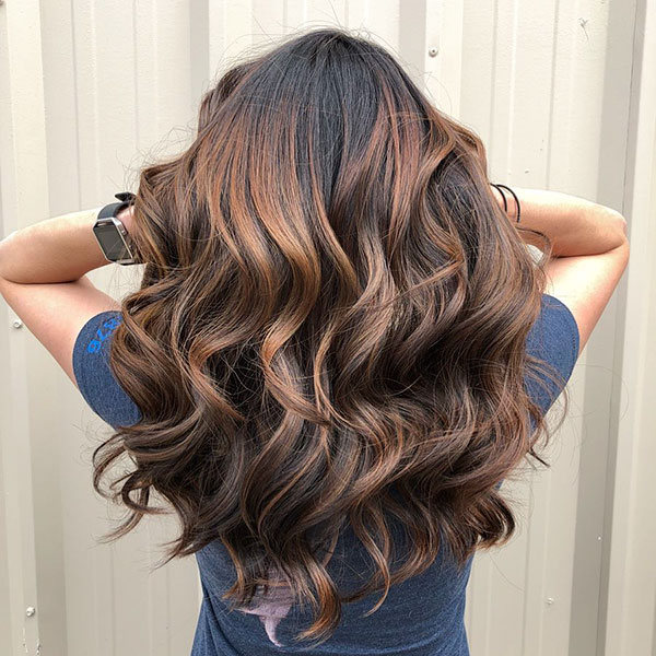 Long Brunette Hairstyles