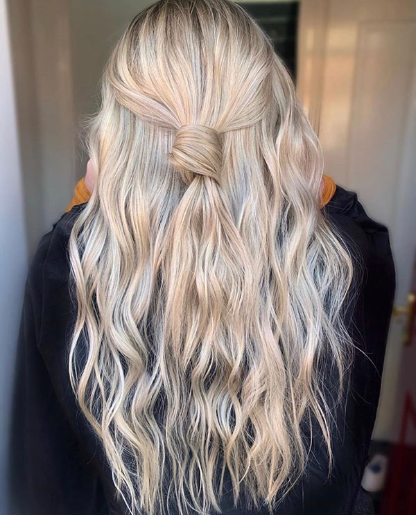 Long Half Up Hairstyles