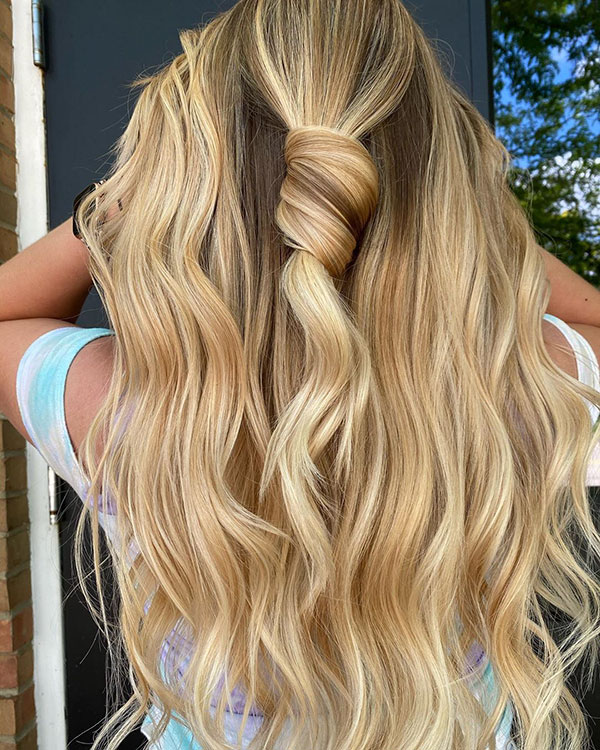 Casual Half Up Hairstyles For Long Hair
