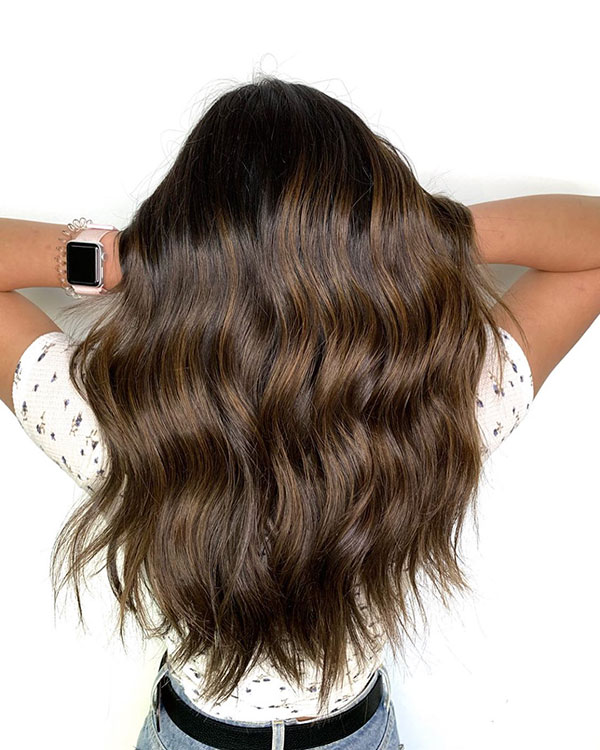 Haircuts For Long Brunette Hair