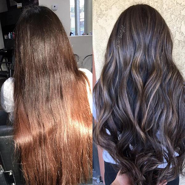 Long Brunette Hairstyles 2020