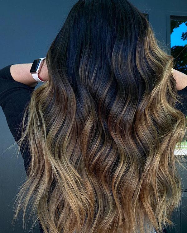 Long Brunette Hair Ideas