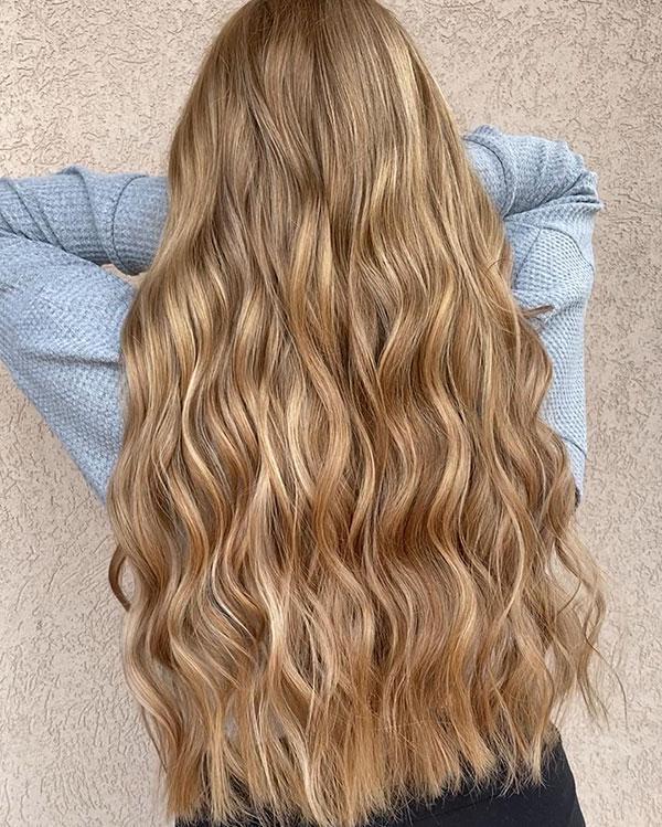 Long Wavy Hair Images