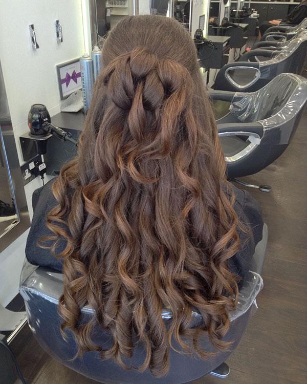 Half Up Long Hairstyles