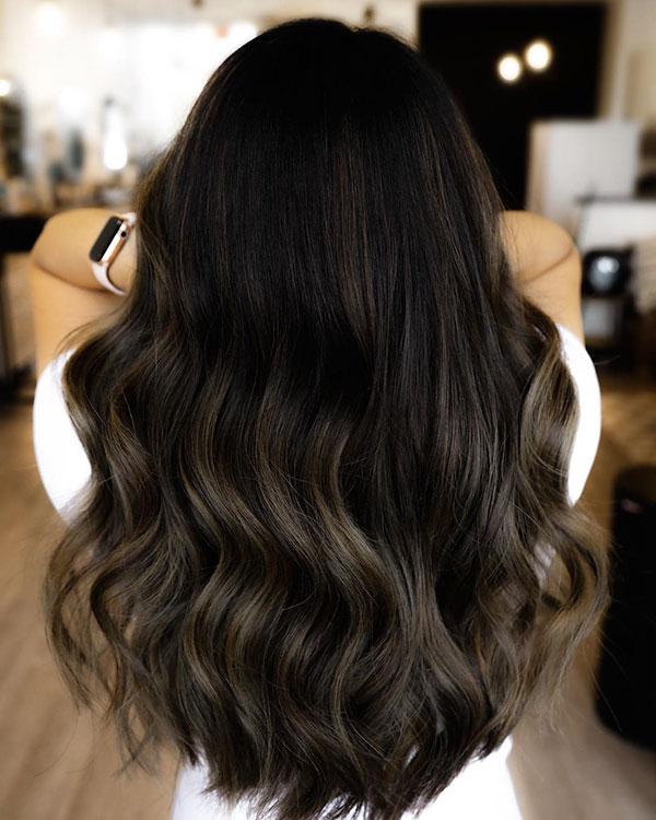 Hairstyles For Long Brunette Hair