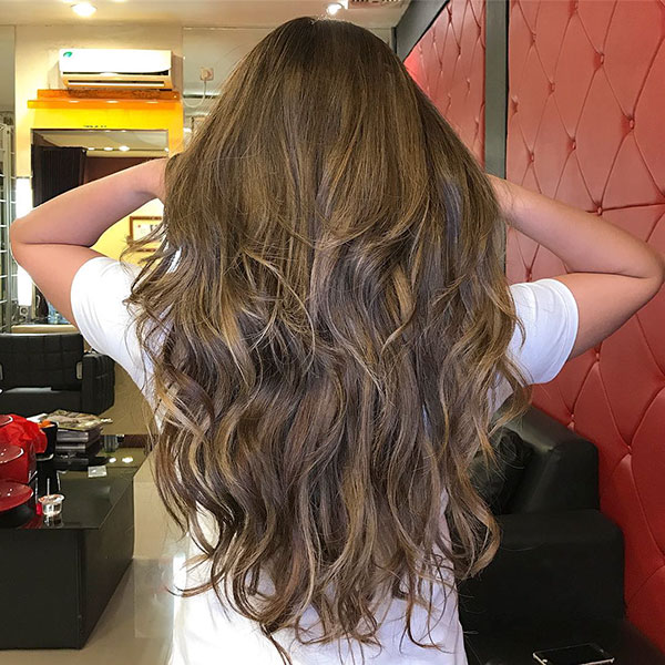 Long Brunette Haircuts