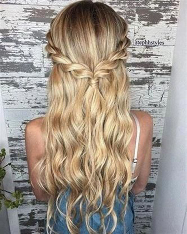 Cute Half Up Hairstyles For Long Hair