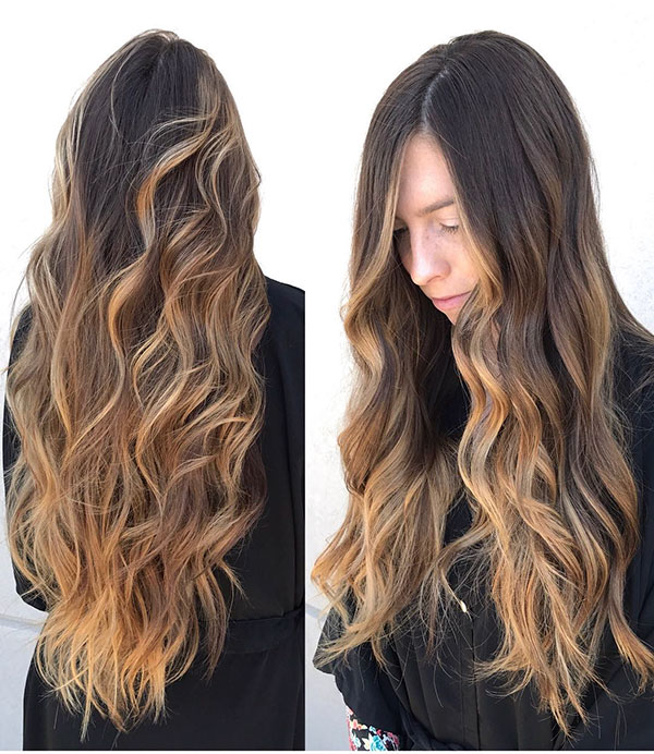 Long Wavy Hairstyles 2020