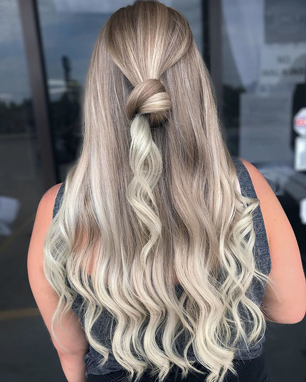 Simple Half Up Hairstyles For Long Hair