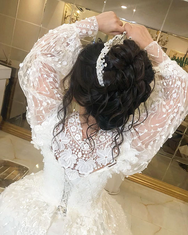 Latest Wedding Hairstyles For Long Hair
