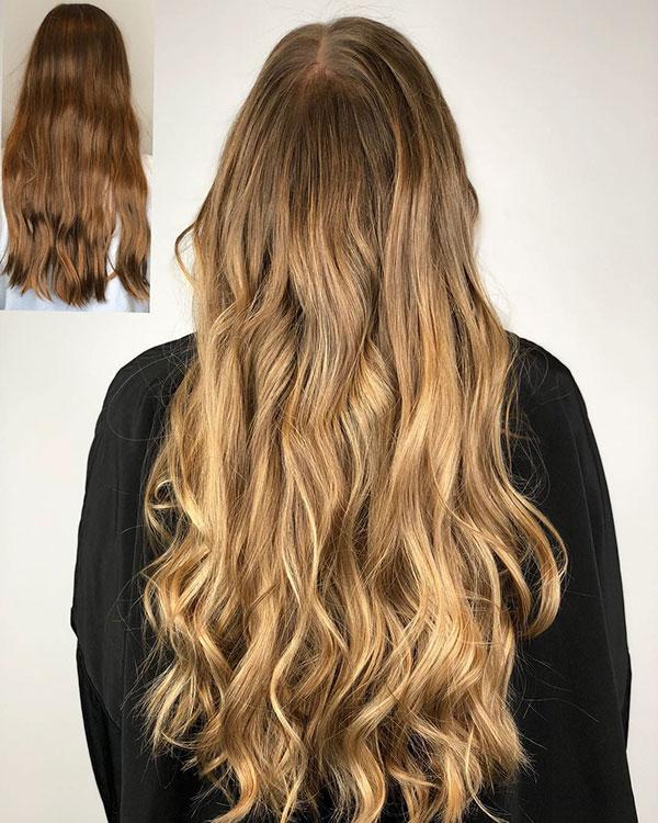 Modern Long Hairstyles