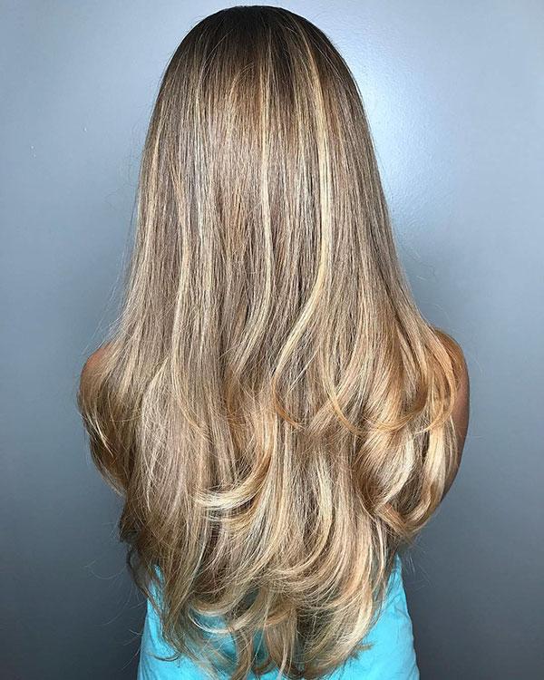 New Long Layered Haircuts