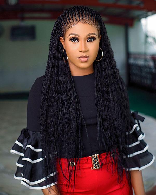 Long Braided Styles For Black Women