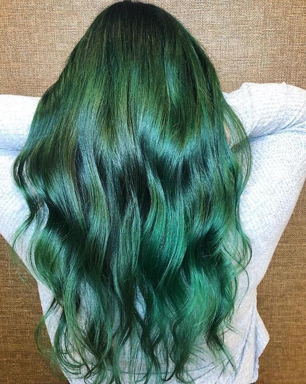 Haircuts For Long Green Hair