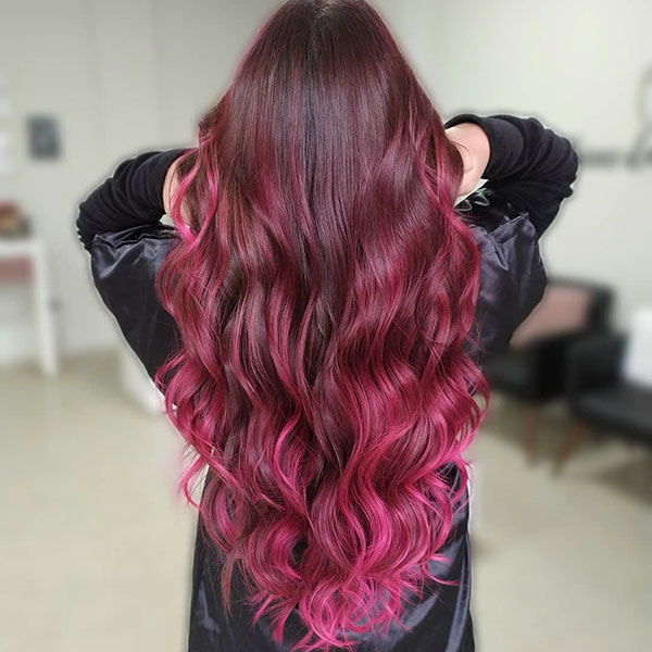 Ombre Images For Long Hair