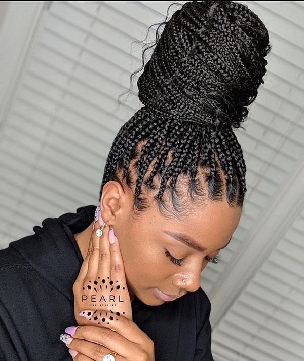Long Braid Styles For Black Women