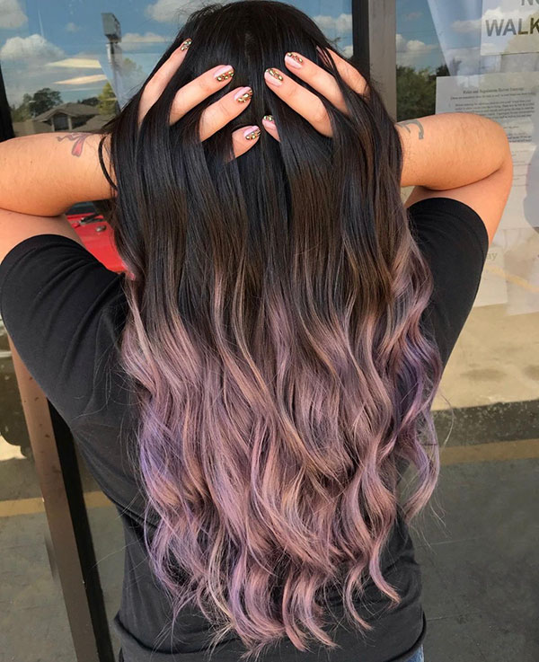 Ombre In Long Hair
