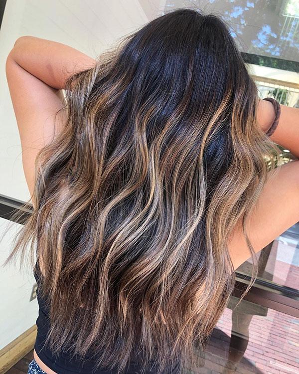 Pics Of Balayage Hairstyles For Long Hair