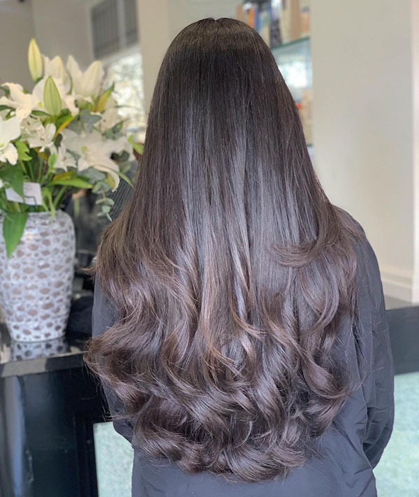 Pictures Of Long Layered Hair