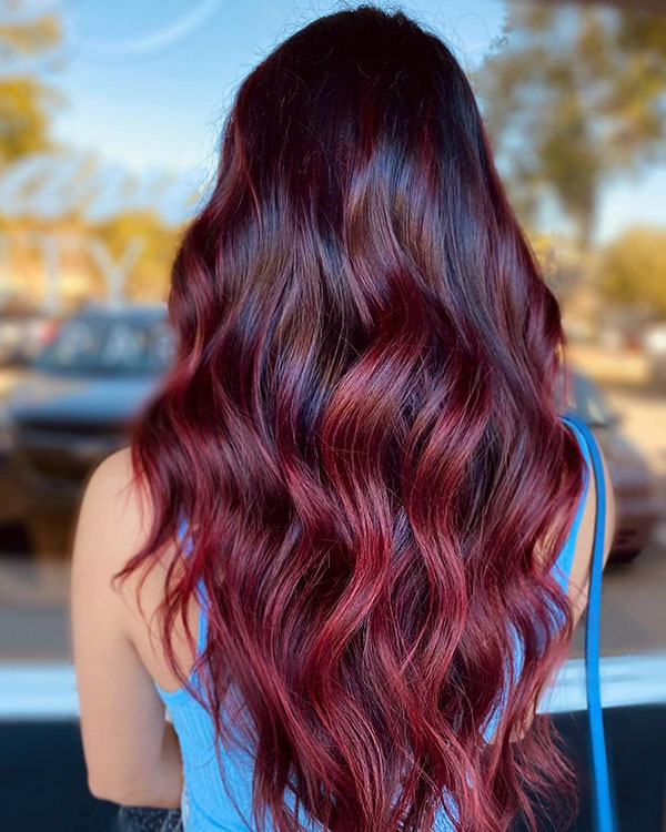 Balayage Hairstyles For Long Hair