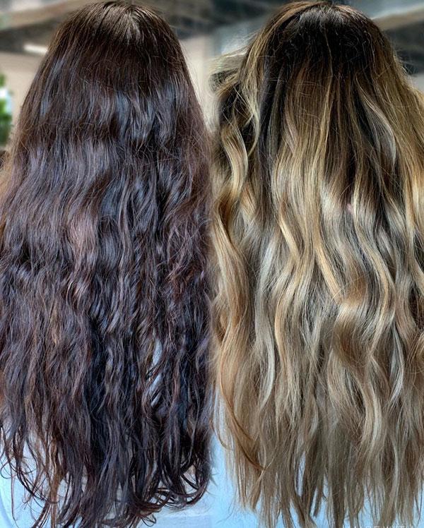 Balayage Long Hair Images