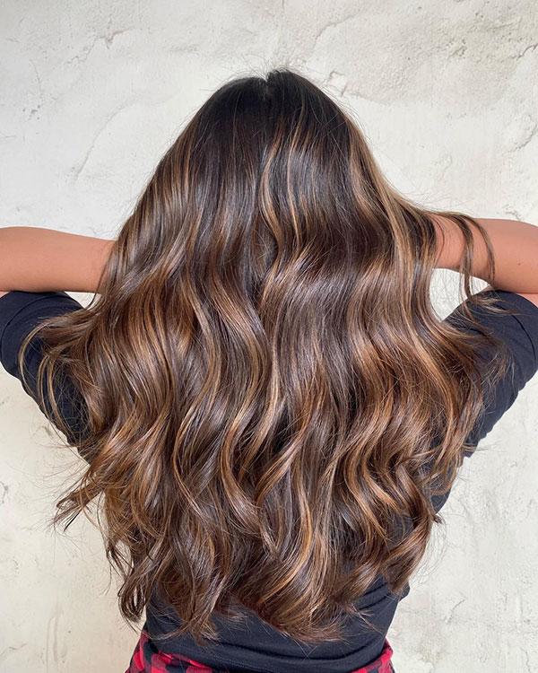 Long Balayage Hair Ideas