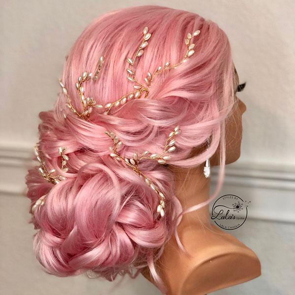 Long Hair Wedding Ideas