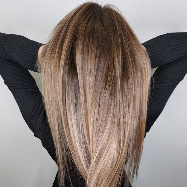 Ombre Hair Color For Long Hair
