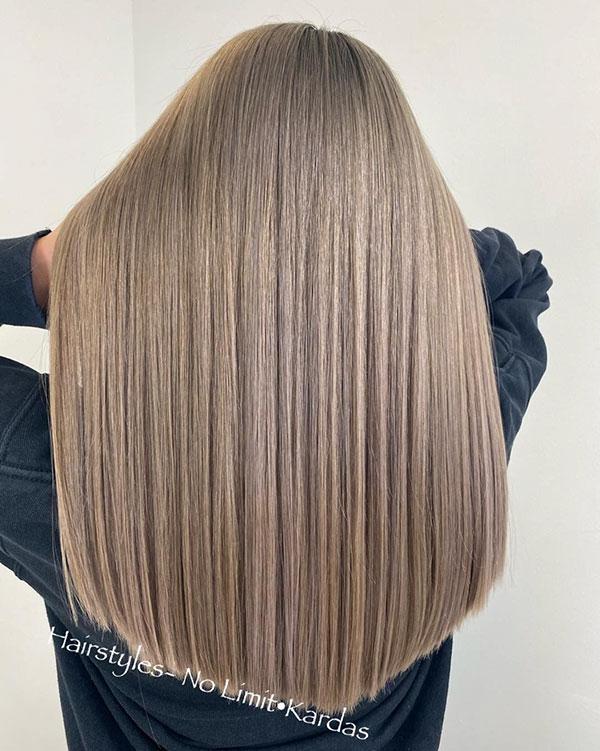 Long Straight Haircuts