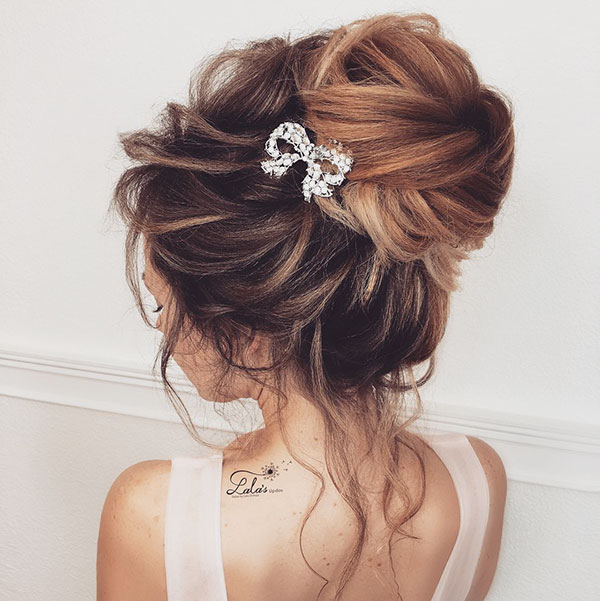 Pictures Of Wedding Hairstyles For Long Hair