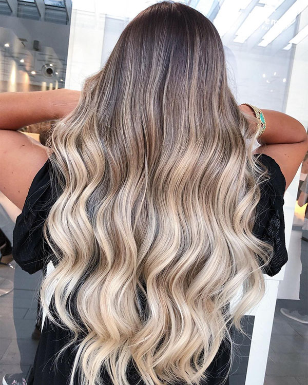 Long Ombre Hairstyles 2021