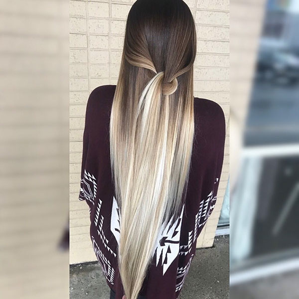 Long And Straight Hair
