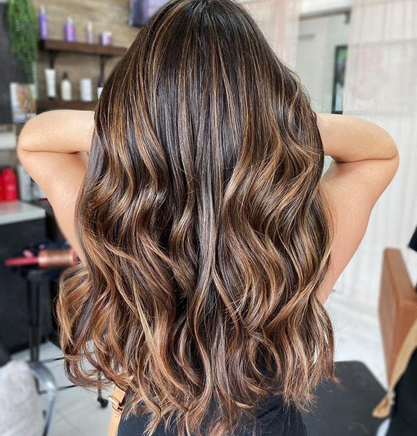 Balayage On Long Hair